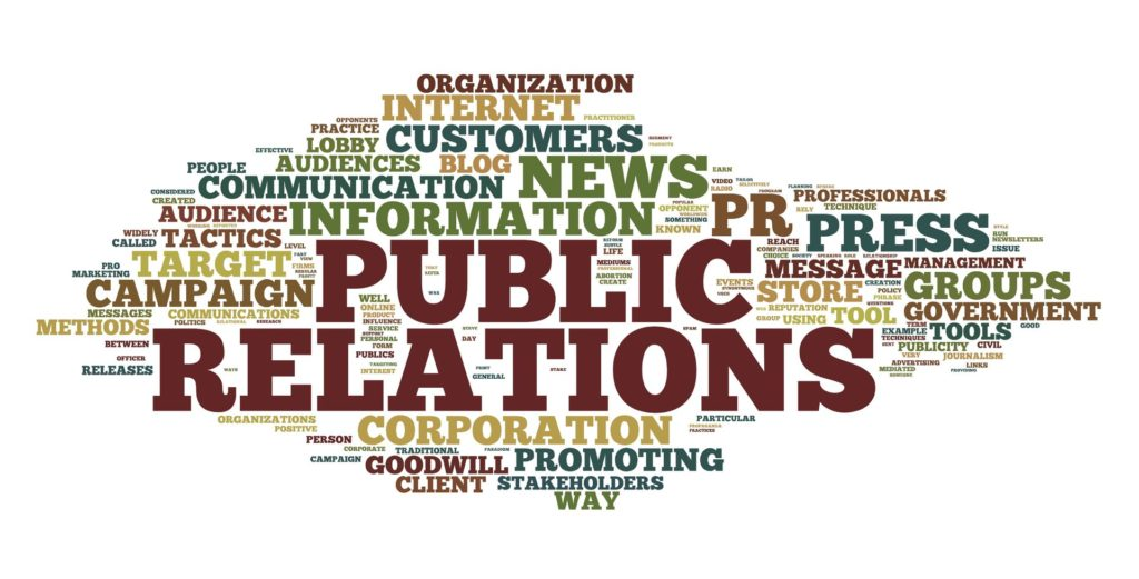 Our public relations services include