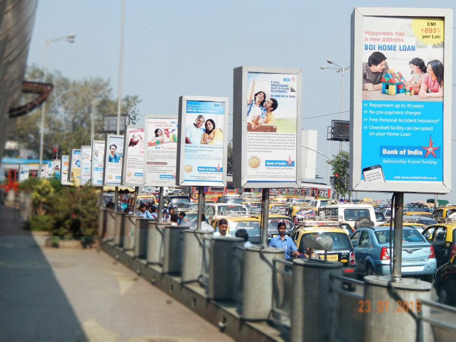 Advantages of kiosk advertising media in India